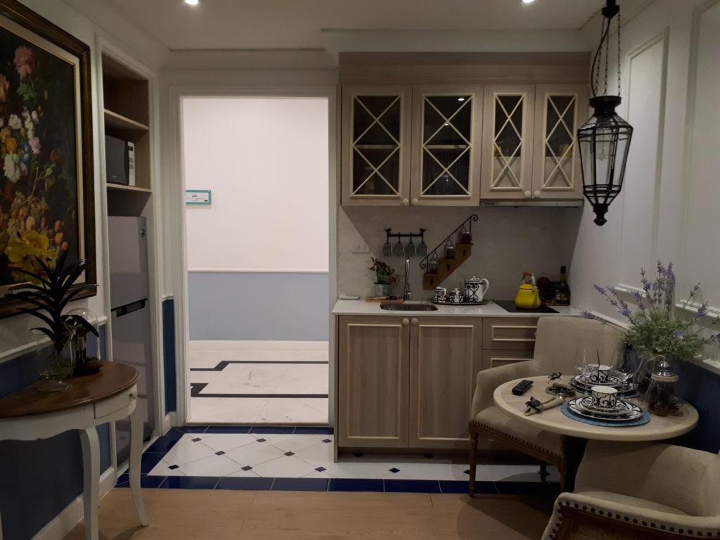кухня в кондоминиуме